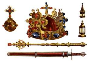 Korunovační klenoty jsou od roku 1962 Národní kulturní památkou číslo 2.  Mohou být vystaveny pouze na území Pražského hradu c30b4153078